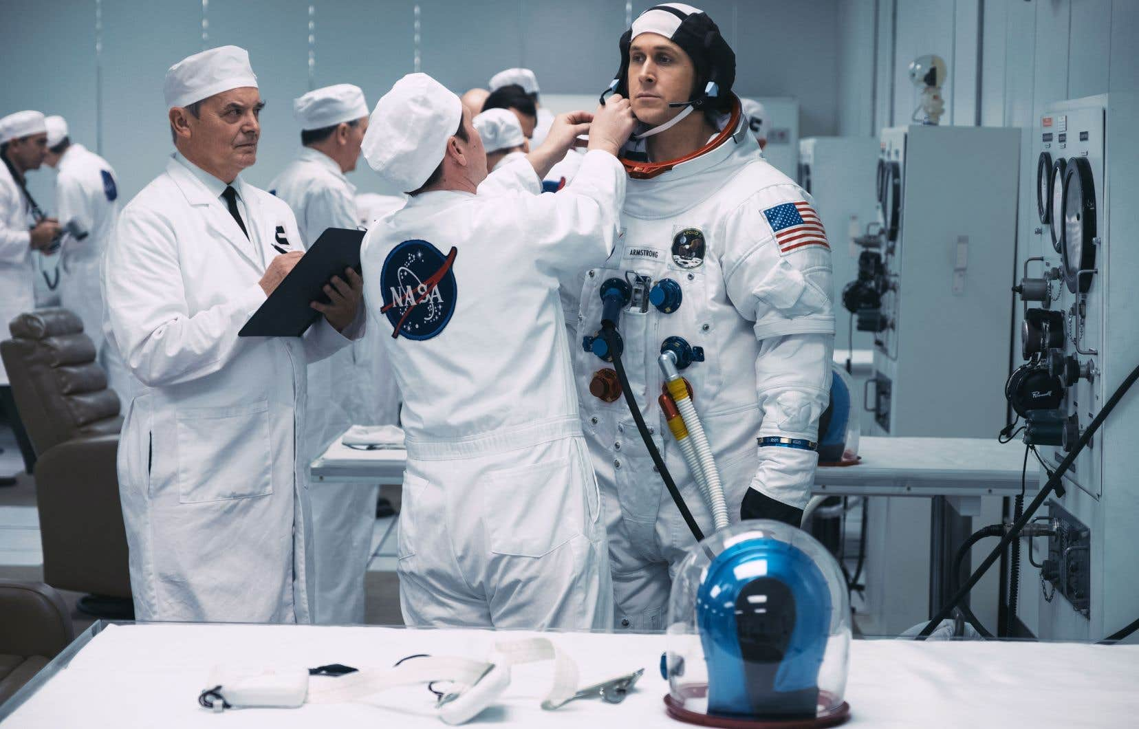 Dans «First Man», Ryan Gosling incarne Neil Armstrong, que rien ne prédestinait à devenir le premier homme à marcher sur la Lune.