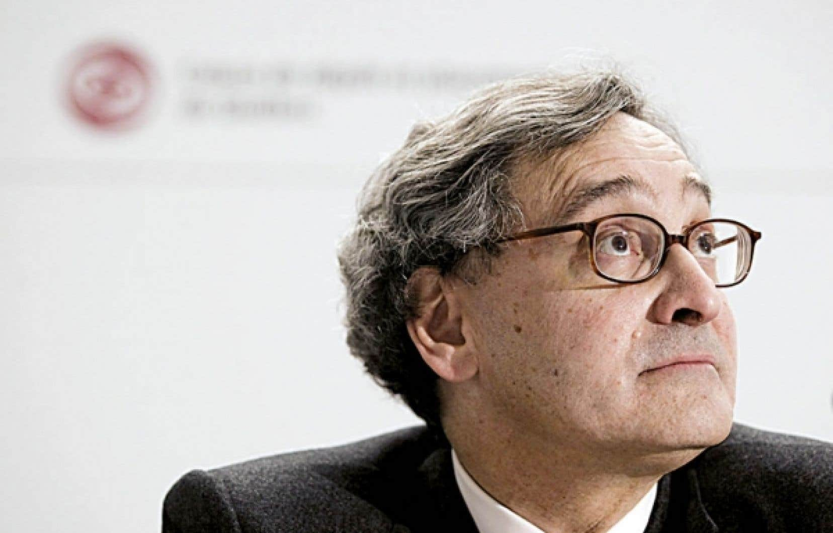 Michael Sabia, grand patron de la Caisse de dépôt et placement du Québec