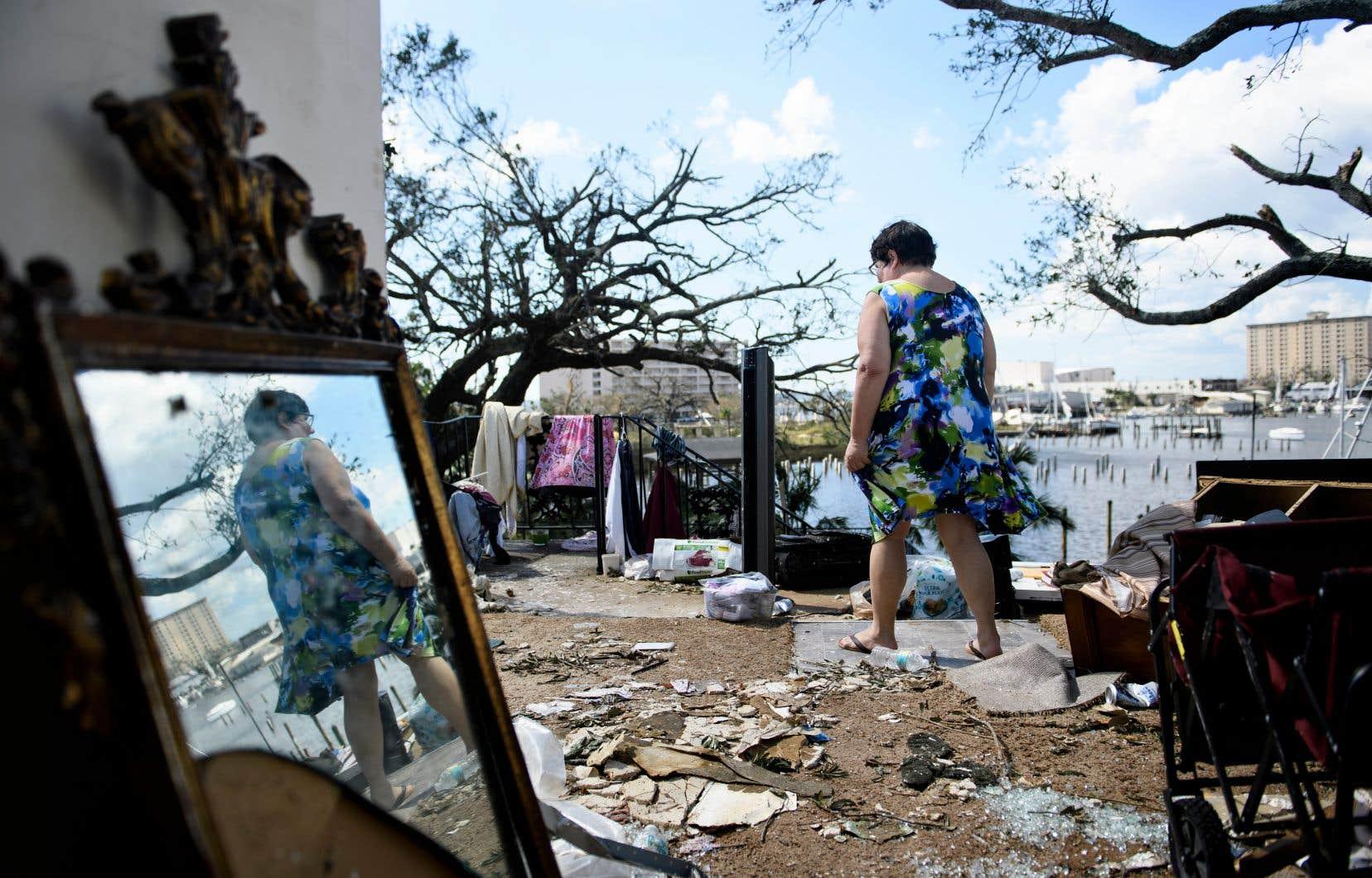 «Michael» a dévasté la Floride et s'éloigne désormais du territoire américain, rétrogradée en cyclone post-tropical.