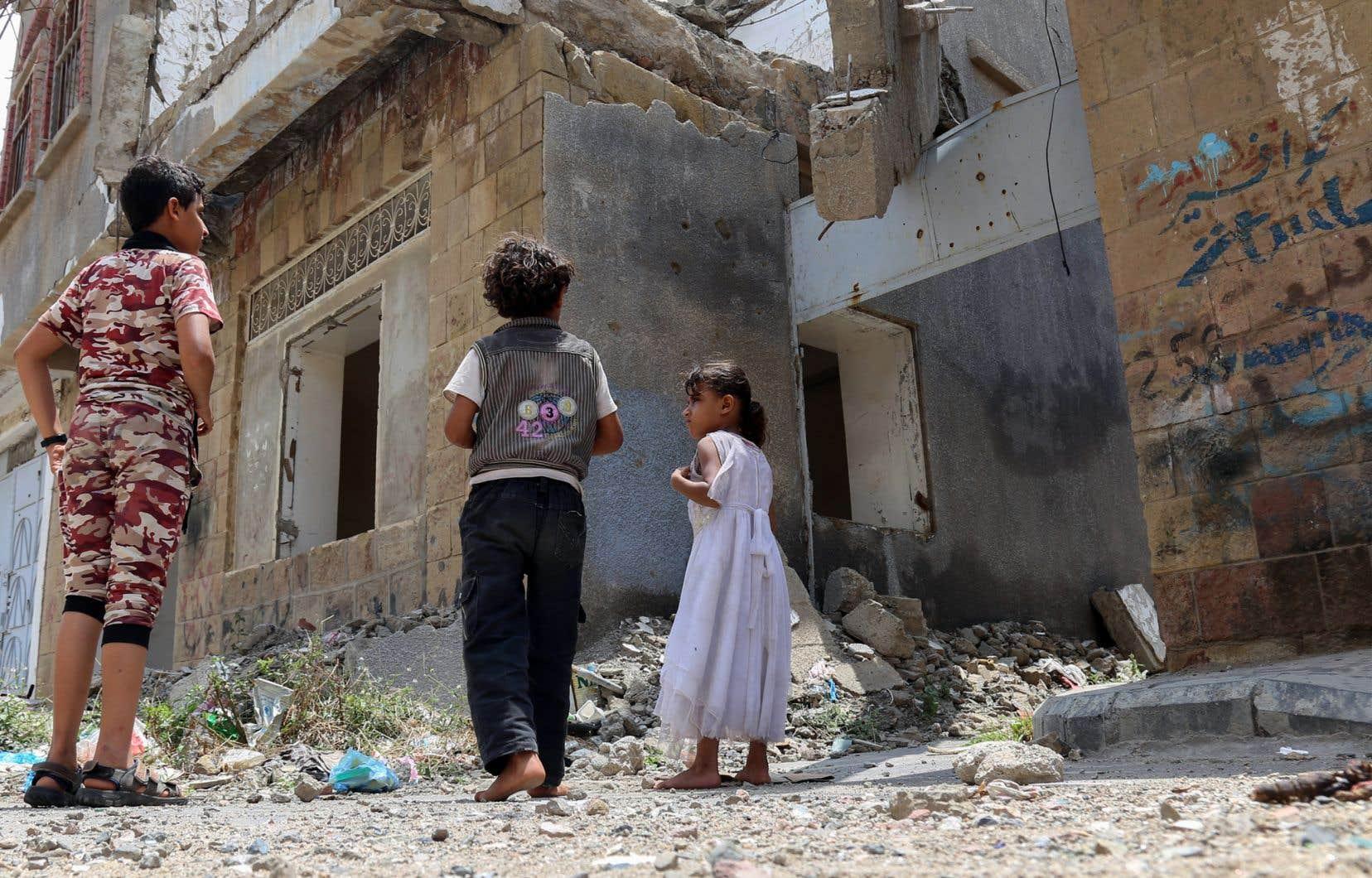<p>Les chocs climatiques ont un impact important sur les pays en conflit, commele Yémen.</p>