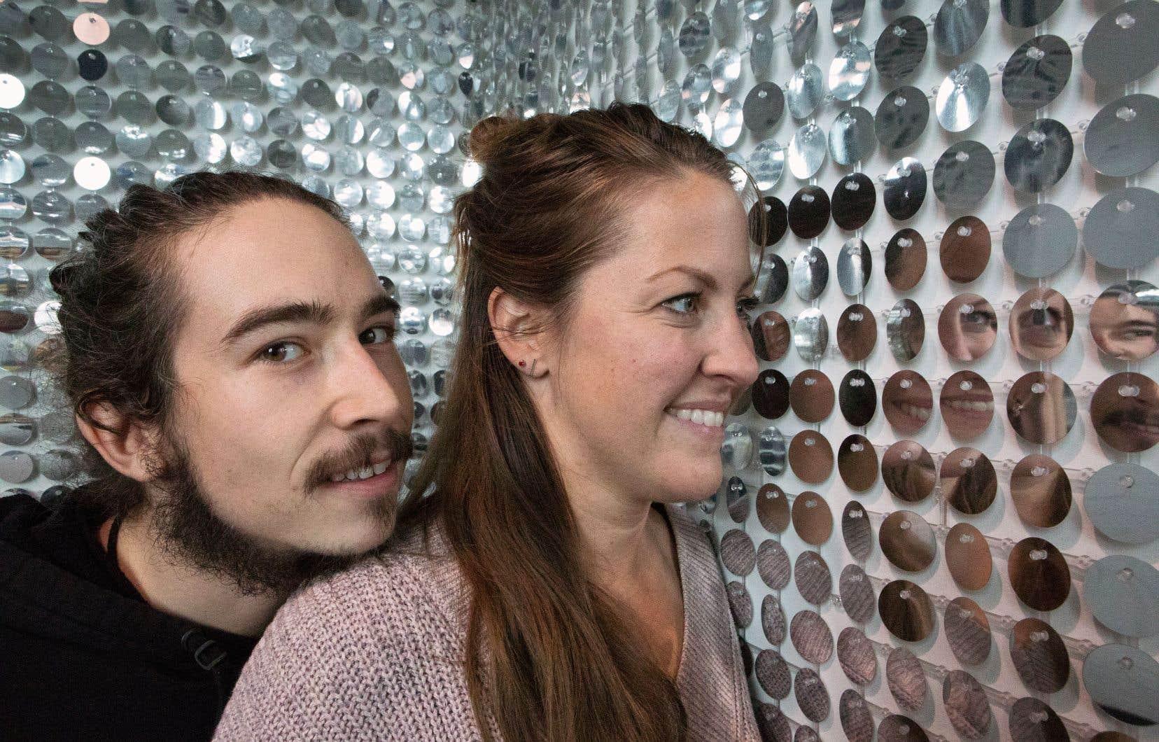 Mickaël Tétrault-Ménard et Joanie Poirier, du collectif Grande Surface, se disent «plutôt interartistiques que multidisciplinaires».