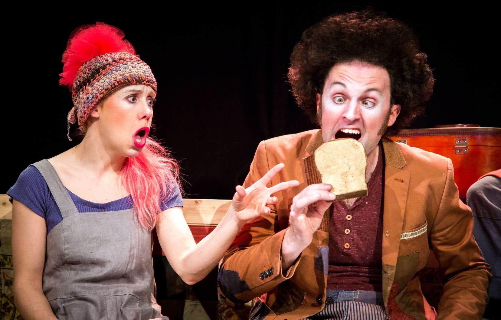 Le Théâtre des Gros Becs, qui présente des œuvres jeunesse comme la fable clownesque «Ripopée», connaîtra cette saison sa plus petite saison des cinq dernières années, en raison de la chute de réservations scolaires.