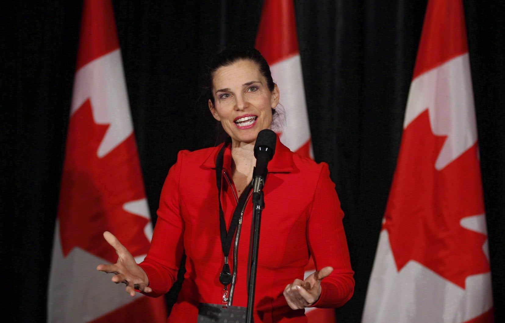 La ministre fédérale des Sports, Kirsty Duncan