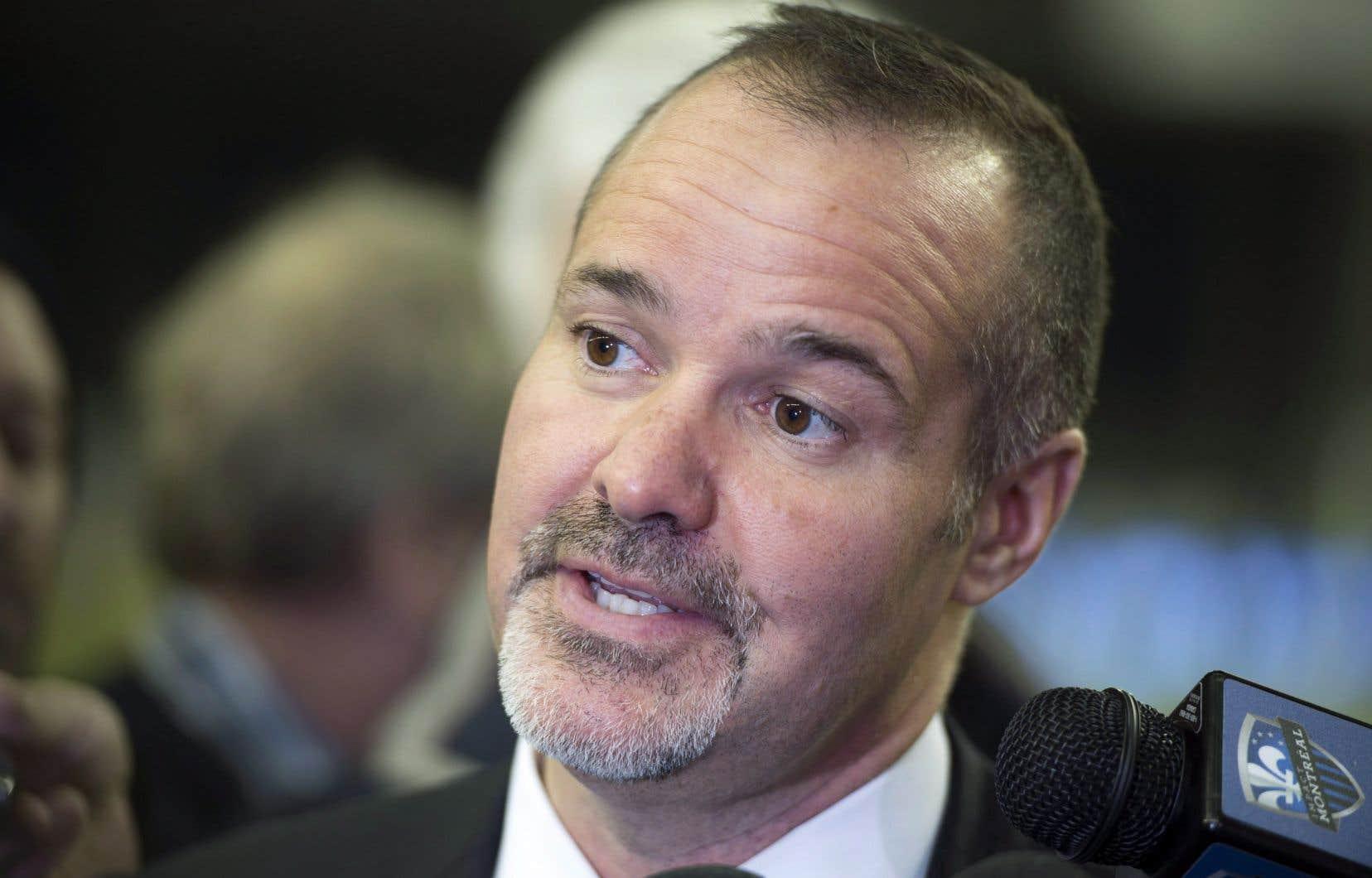 Le président de l'Impact de Montréal, Joey Saputo