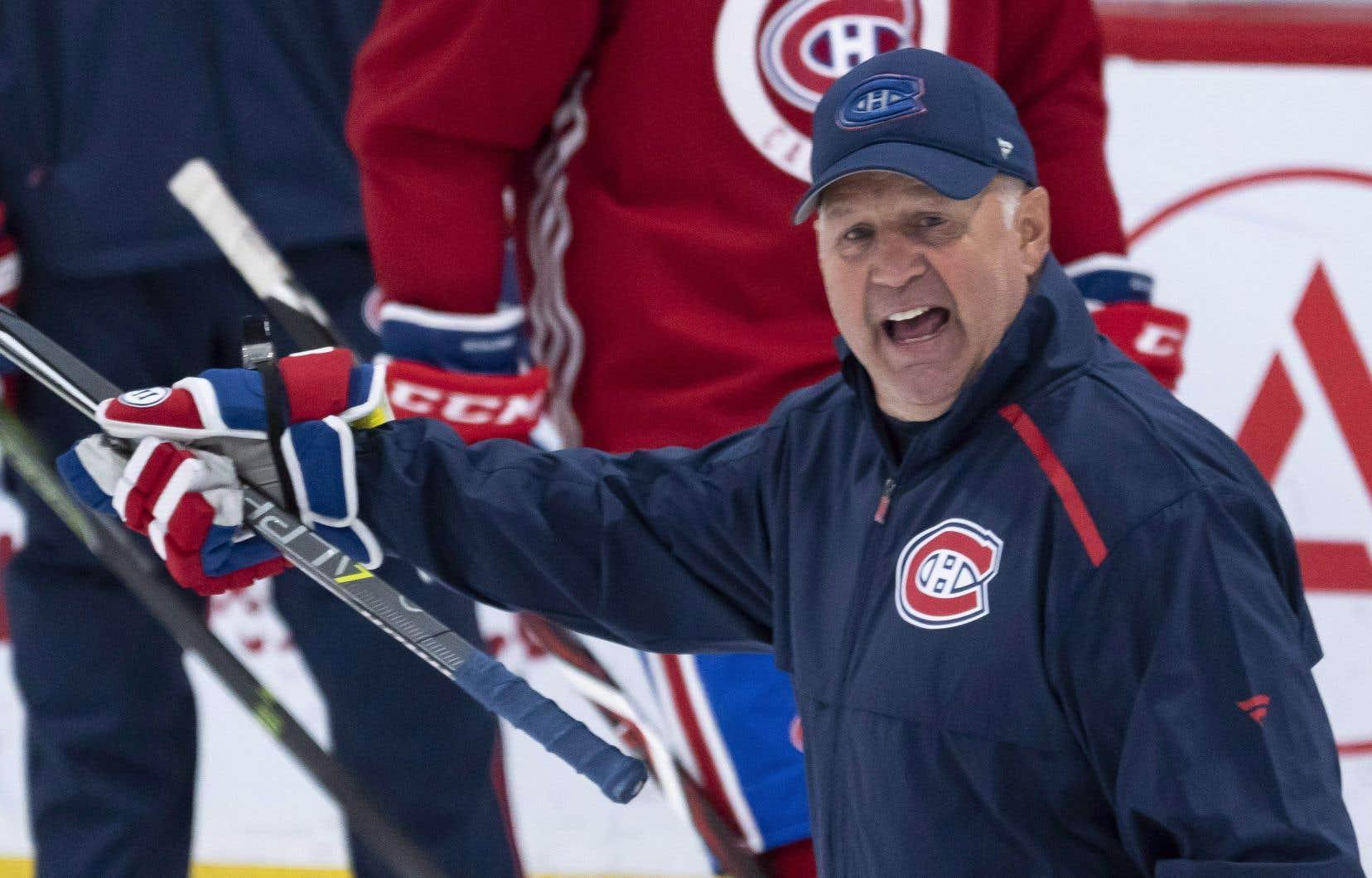 L'entraîneur-chef des Canadiens de Montréal, Claude Julien