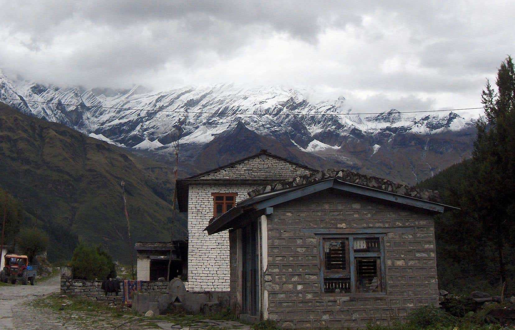 Marie-Ève Yergeau a passé quatre mois au Népal et a collecté des données dans des zones protégées où l'écotourisme est florissant.