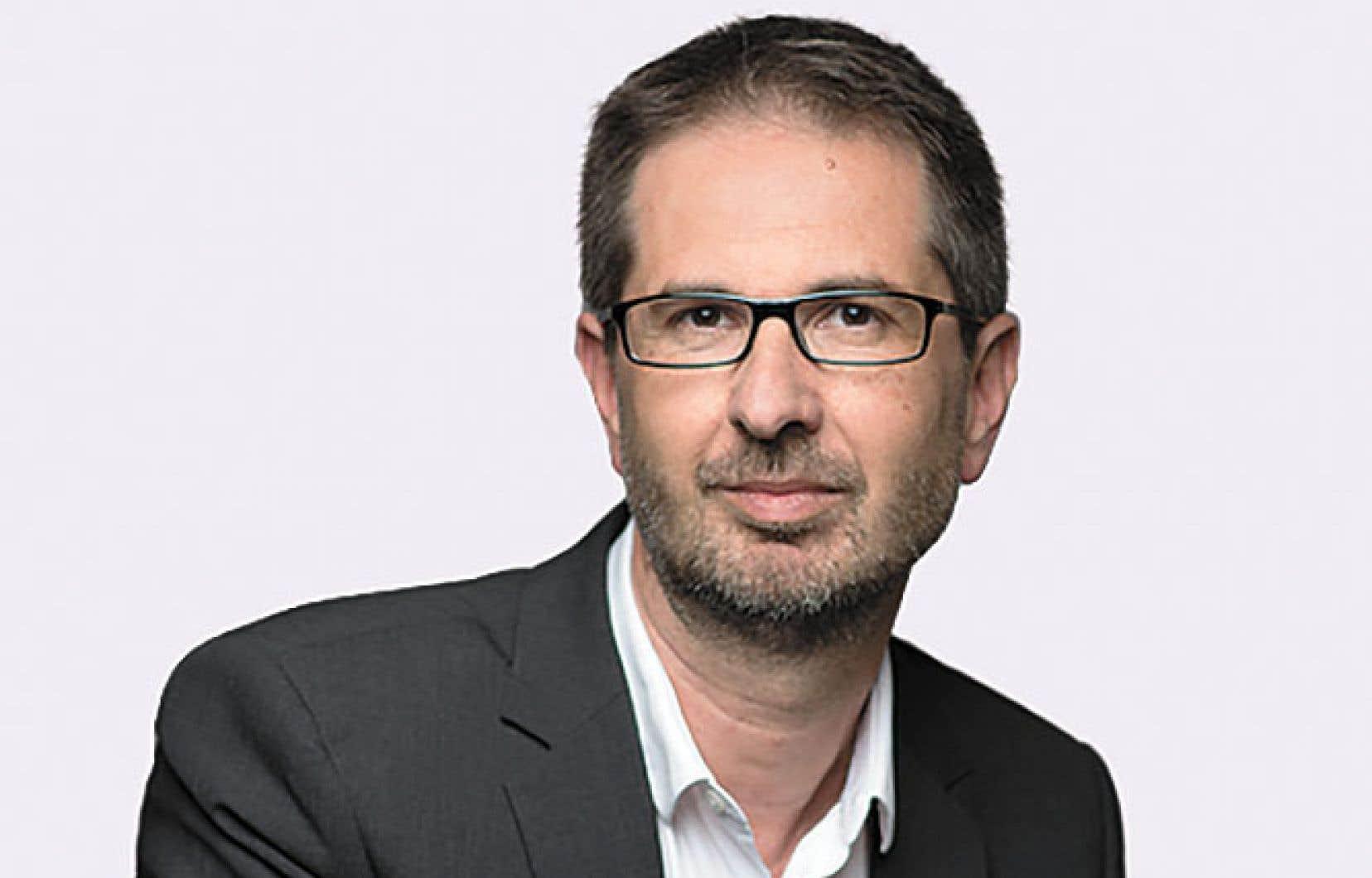 <p>Jérôme Fenoglio est directeur du «<i>Monde»</i></p>