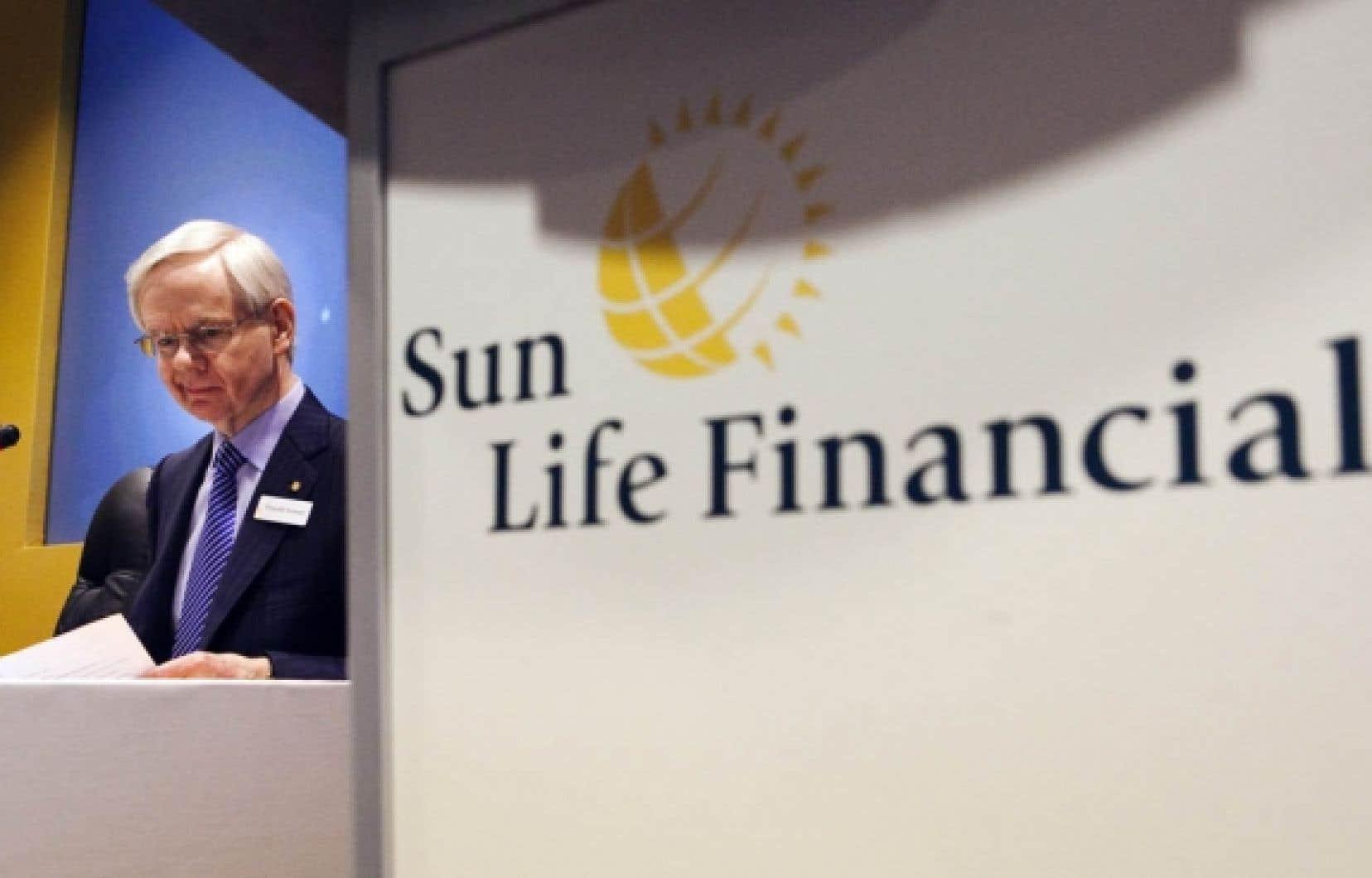 Donald Stewart, président et chef de la direction de la Financière Sun Life.