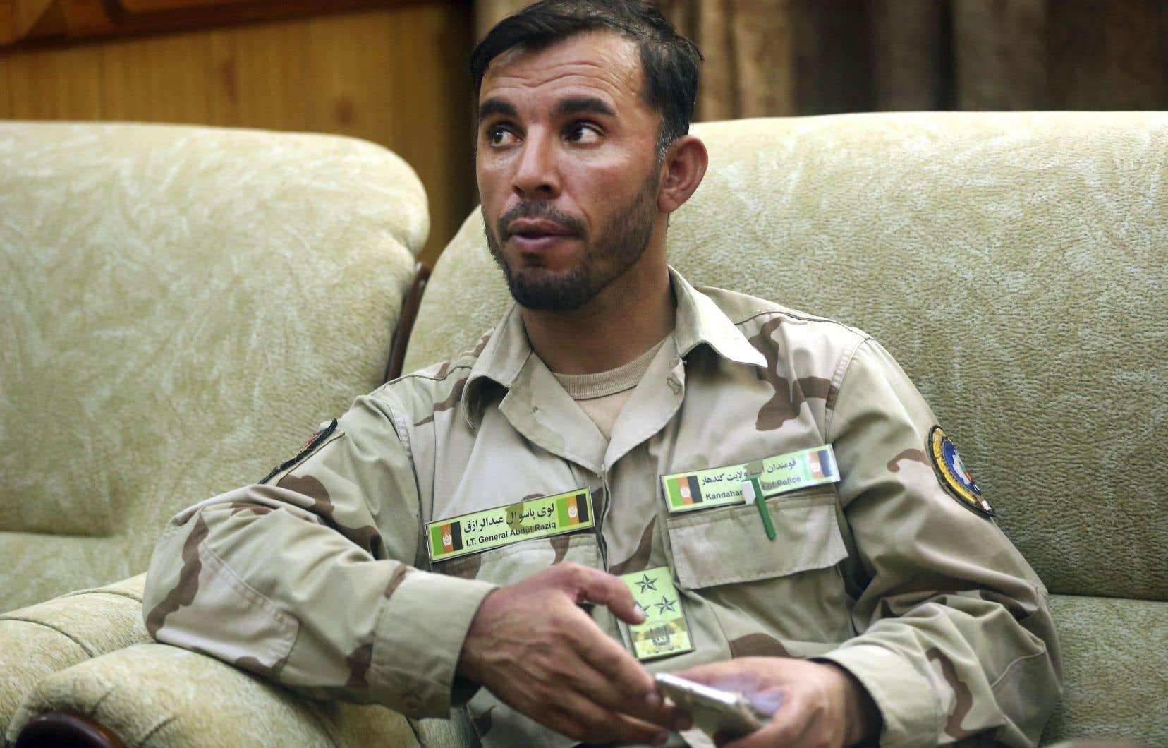 Tué jeudi, le général Abdul Raziq avait survécu à de nombreux attentats ces dernières années.
