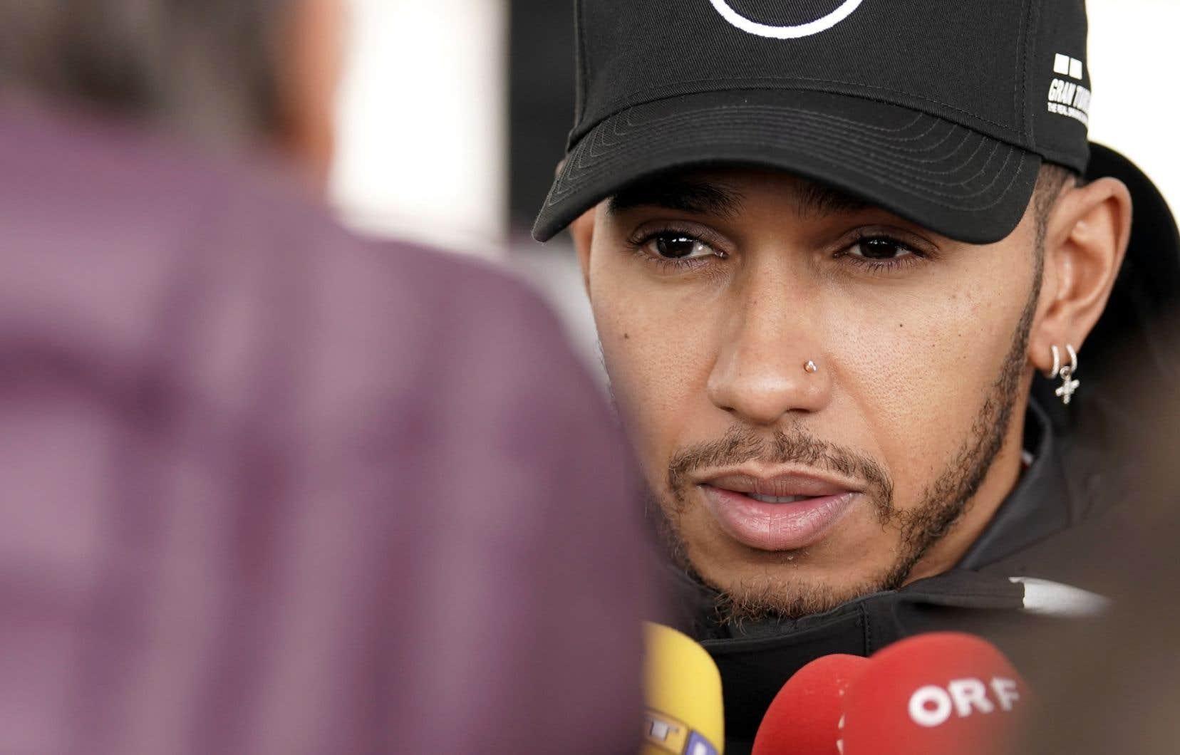 Même s'il est constamment interrogé sur cet enjeu, Hamilton refuse toujours de discuter de la place qu'il occupera dans l'histoire de la F1.