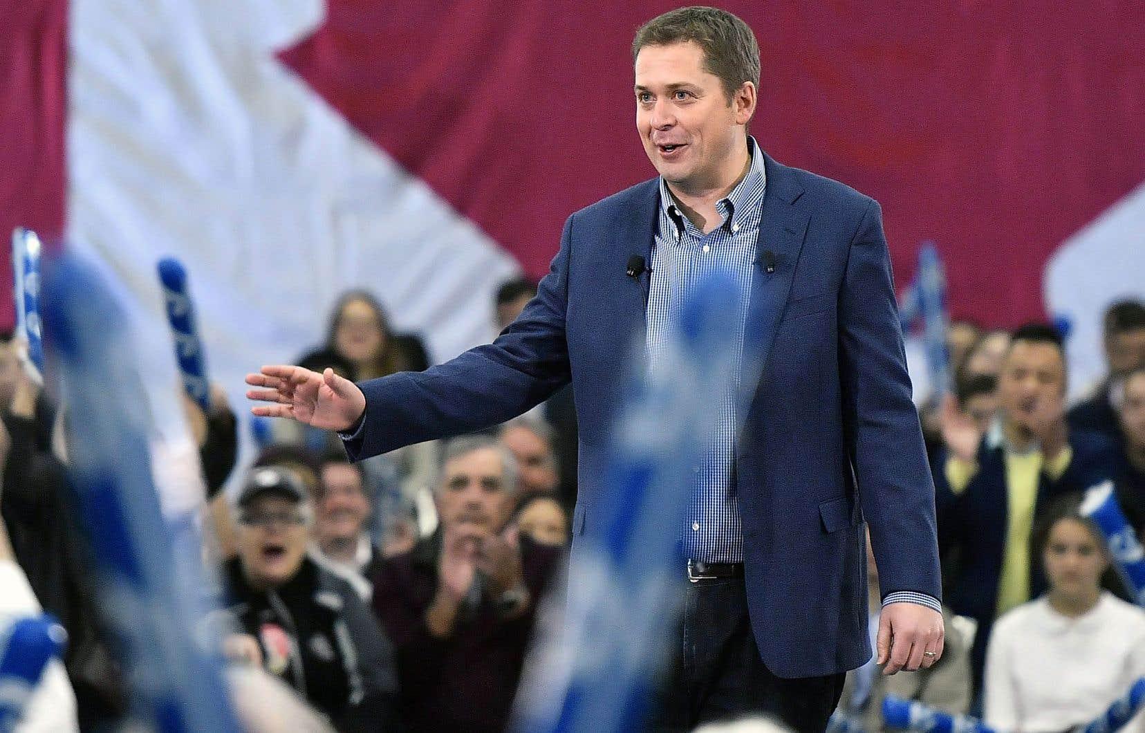 Andrew Scheer a noté que la droite profitait d'un bel élan au Canada avec les victoires électorales en Ontario et au Québec.