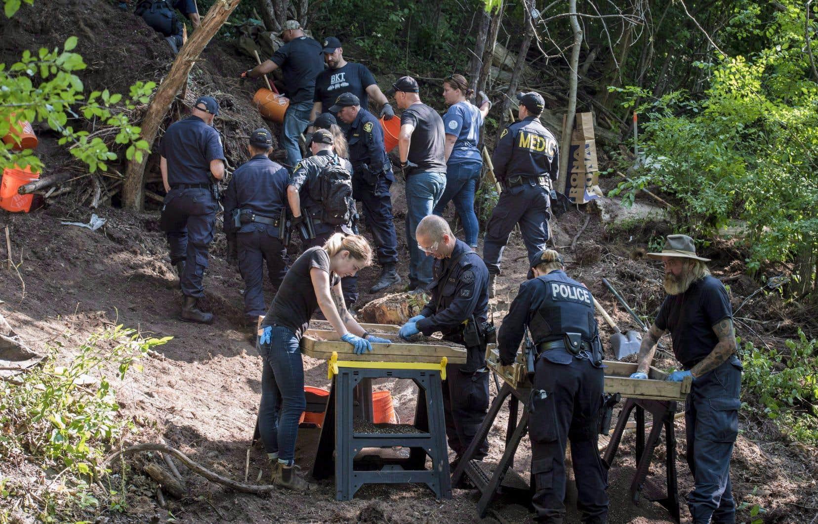 Les restes de huit hommes ont été retrouvés non loin d'une maison où Bruce McArthur travaillait comme paysagiste.