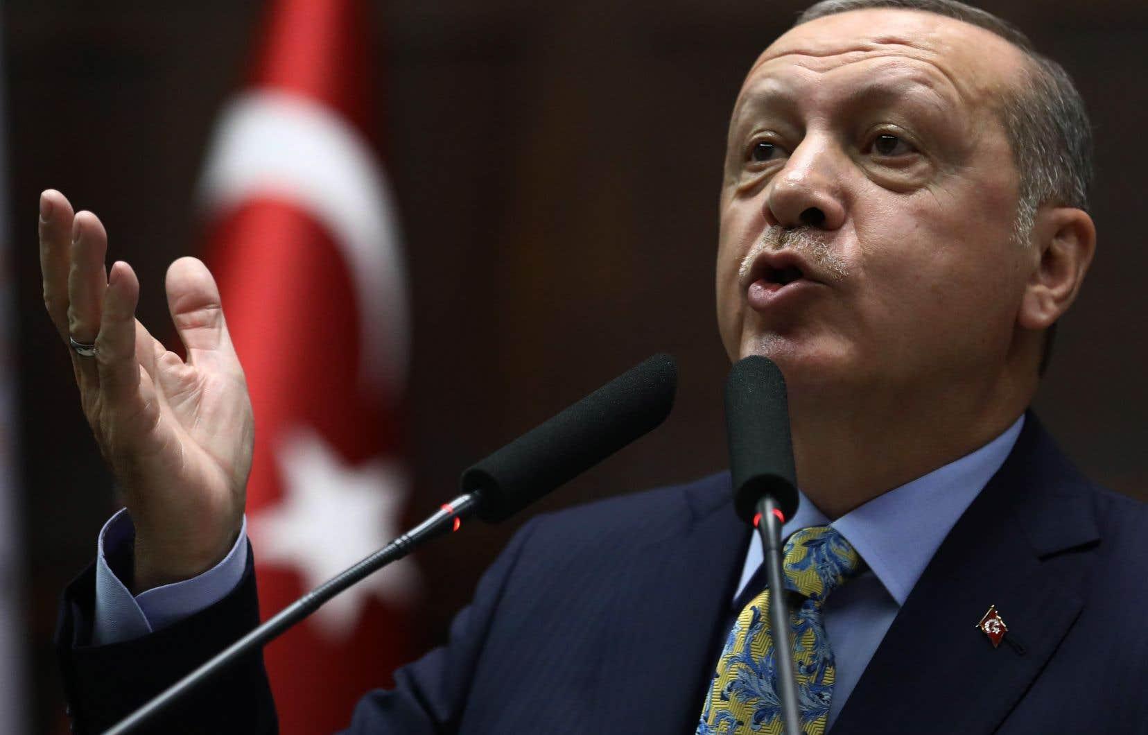 Le président turc a révélé «toute la vérité» sur le meurtre du journaliste saoudien Jamal Khashoggi, une affaire désastreuse pour l'image internationale de l'Arabie saoudite.<br />