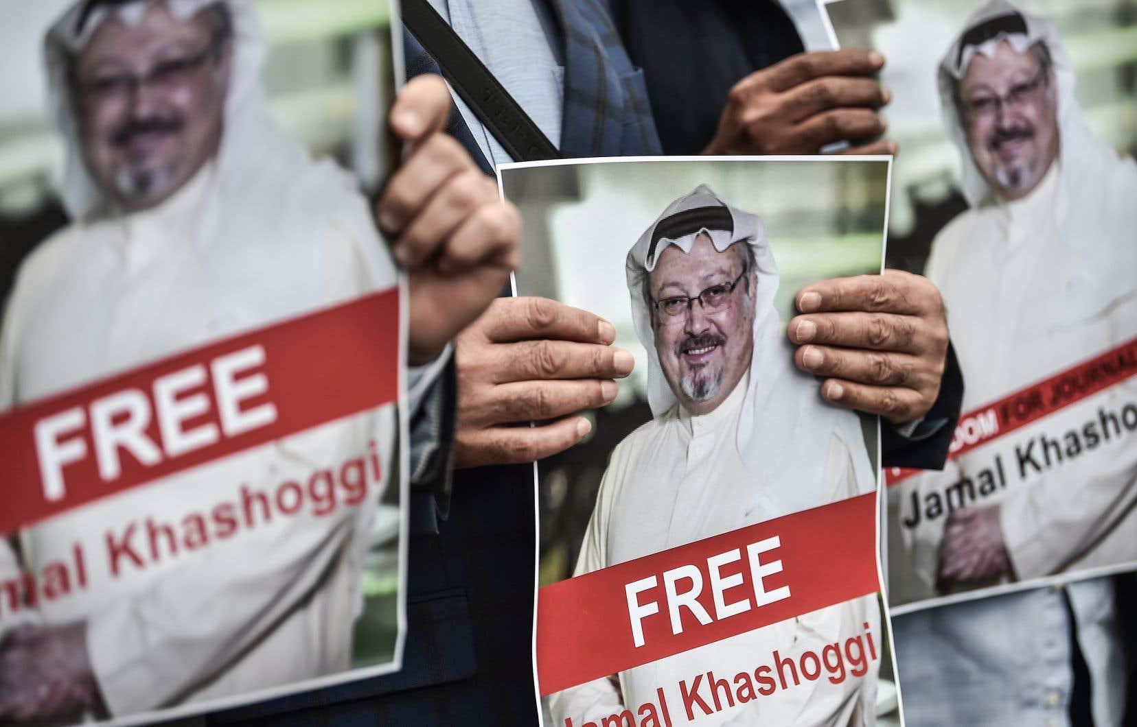 <p>Le journaliste saoudien a disparu le 2octobreau consulat saoudien à Istanbul.</p>