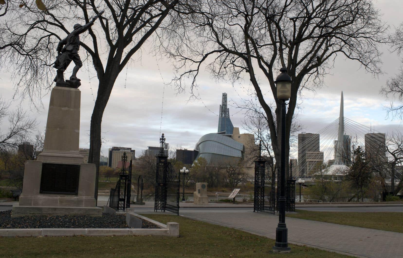 La ville de Winnipeg, au Manitoba