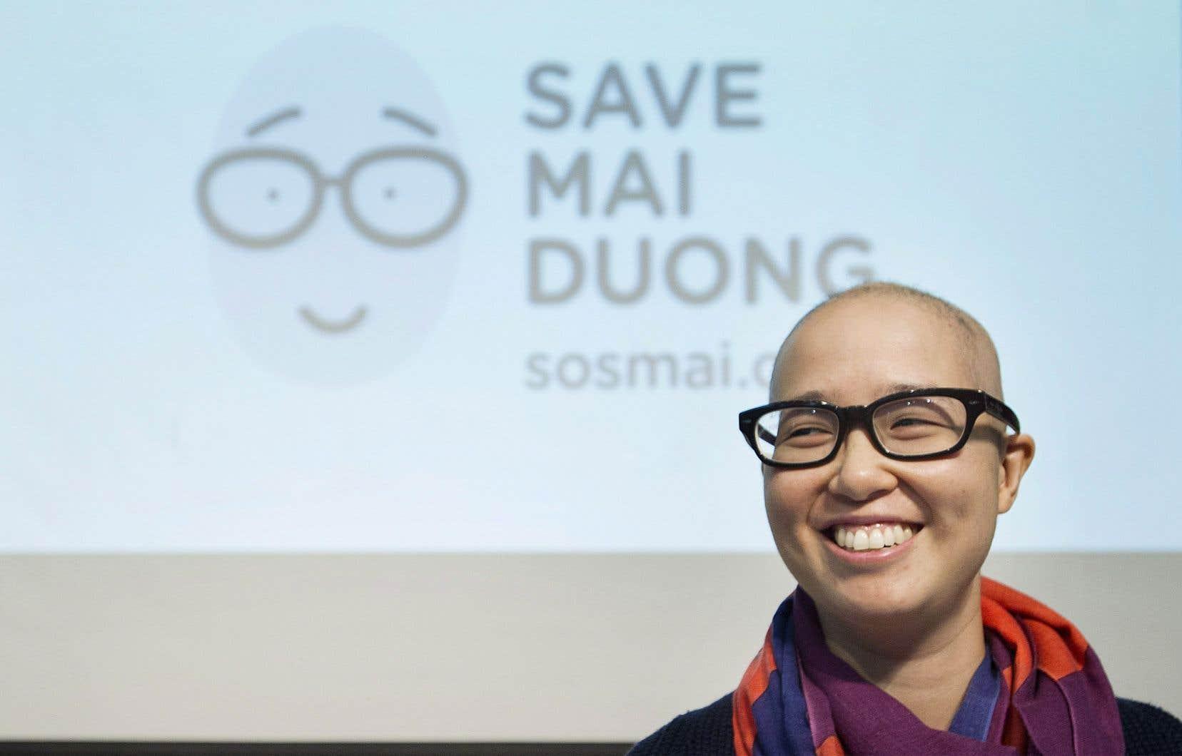 <p>En rémission depuis quatre ans, Mai a mis sur pied une plateforme de communication dénommée «Swab the World» visant à sensibiliser le public au don de cellules souches, et sur laquelle des patients de partout dans le monde pourront raconter leur histoire.</p>