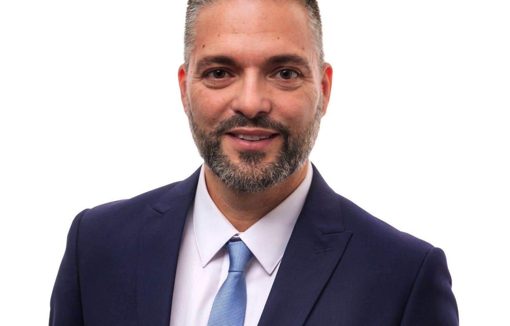 Le candidat d'Ensemble Montréal àla mairie de Rivière-des-Prairies–Pointe-aux-Trembles,Theo Vecera