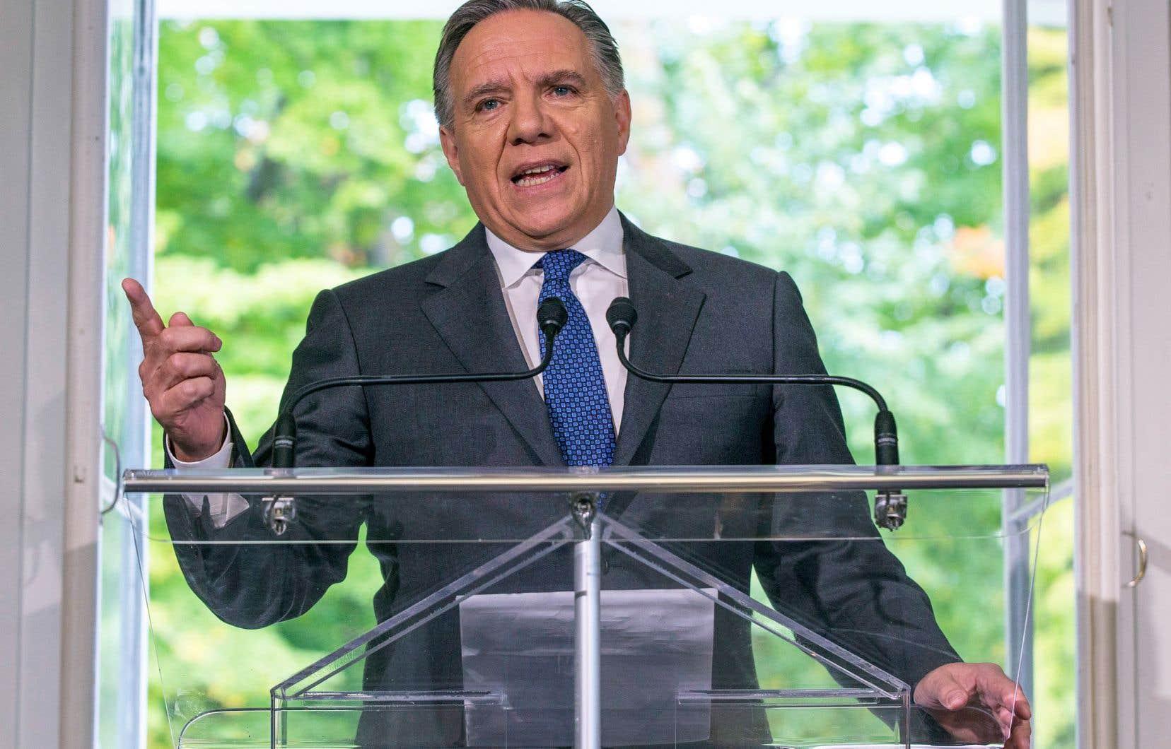 Au cours des derniers jours, la pression s'était accentuée sur François Legault afin qu'il participe à la COP24.