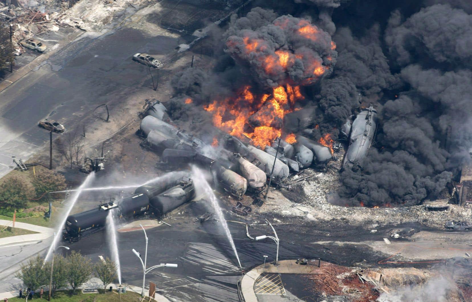 Le transport des liquides inflammables avait été ajouté à la Liste de surveillance du BST en 2014 dans la foulée de la tragédie de Lac-Mégantic.