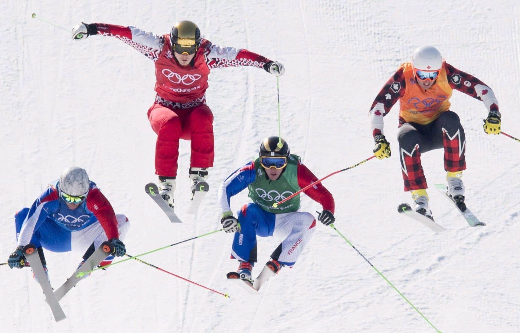 Duncan, double médaillé des X Games d'hiver, a terminé huitième du ski cross des Jeux de Pyeongchang.