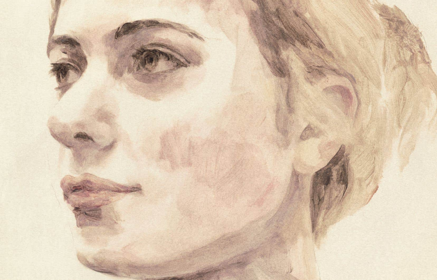 Portrait de Mayya-Lika Kokina (Ukraine)
