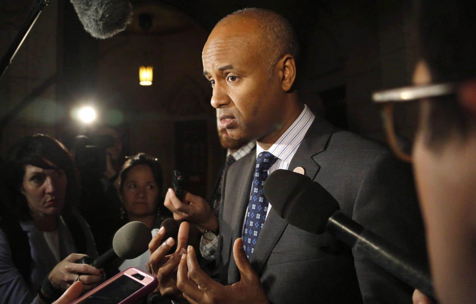 Le Québec «est obligé d'accepter un pourcentage de tous les réfugiés qui s'installent au Canada», a précisé le ministre canadien de l'Immigration, Ahmed Hussen.