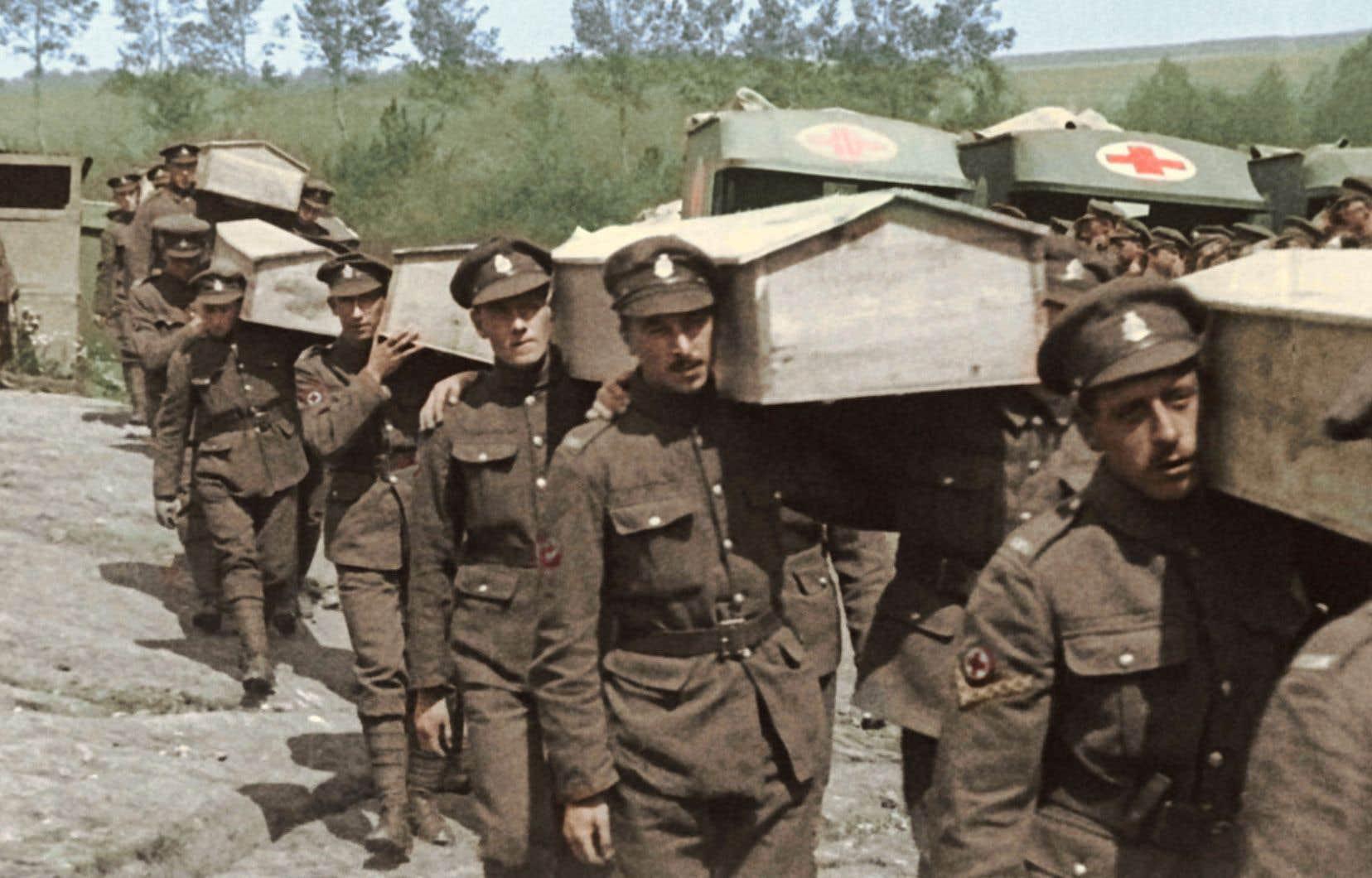 La Première Guerre mondiale, qui a ravagé l'Europe pendant quatre années, a fait plus de 10millions de morts.