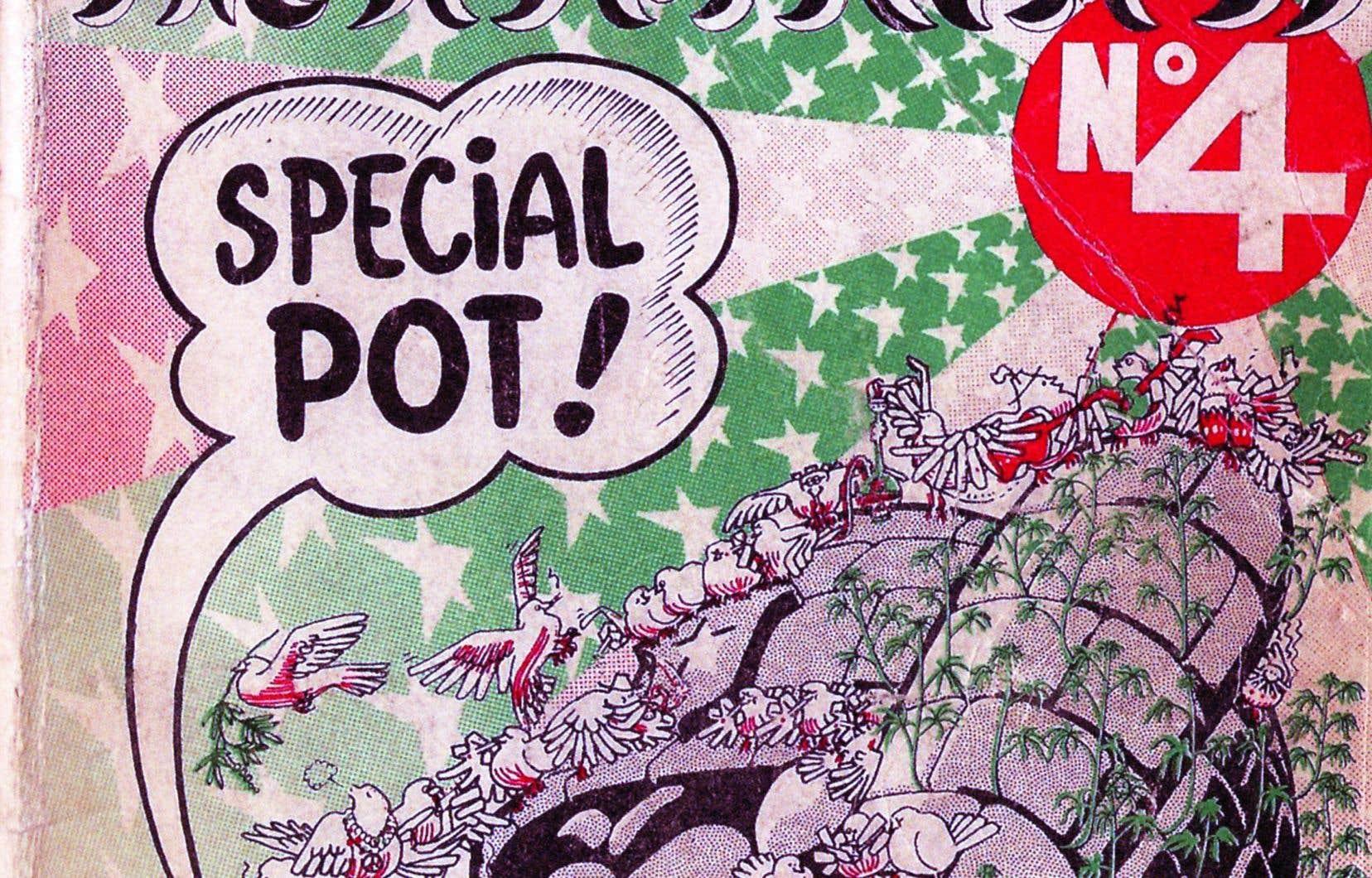 L'édition d'avril 1971; une image tirée de «Nos racines psychédéliques»