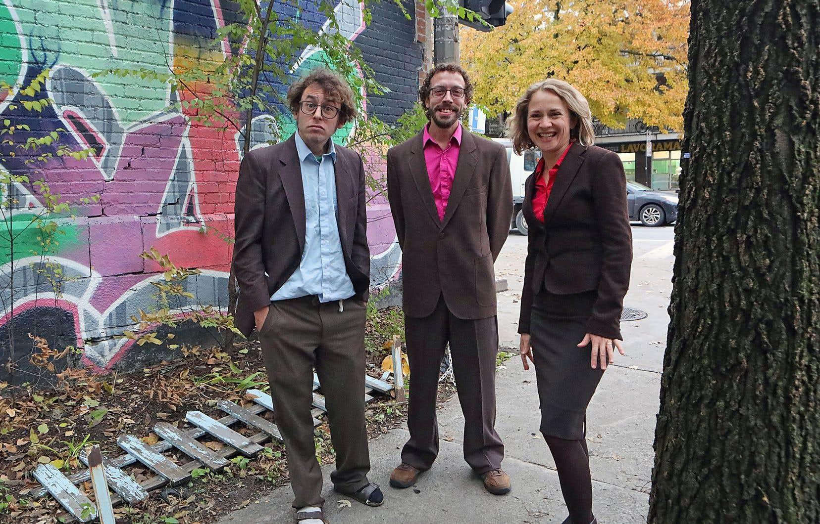 Pour ce nouvel album, le Benoît Paradis Trio a préféré séparer les prises de voix de celles des instruments.