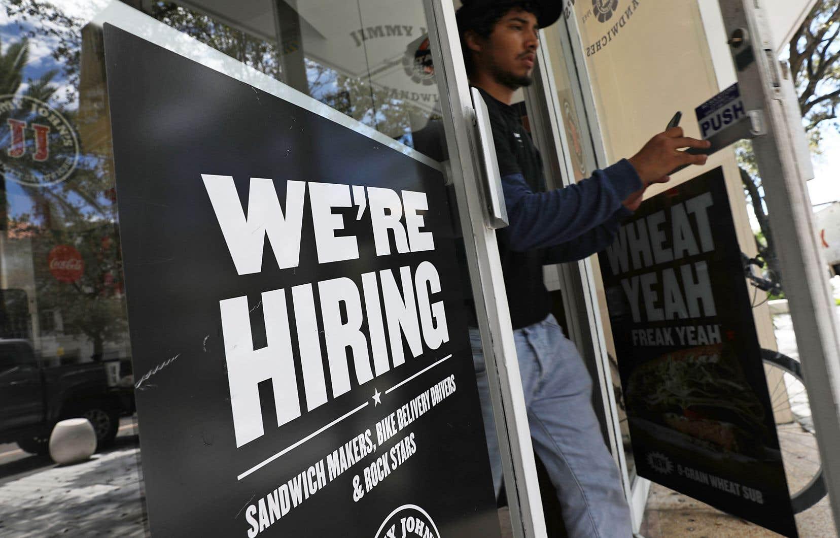 L'économie américaine a créé 250000 emplois au mois d'octobre.