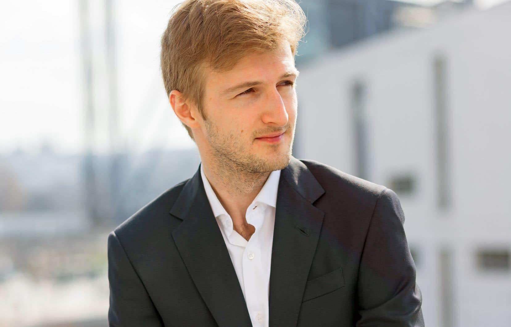 Le Montréalais d'origine roumaine Andrei Feher