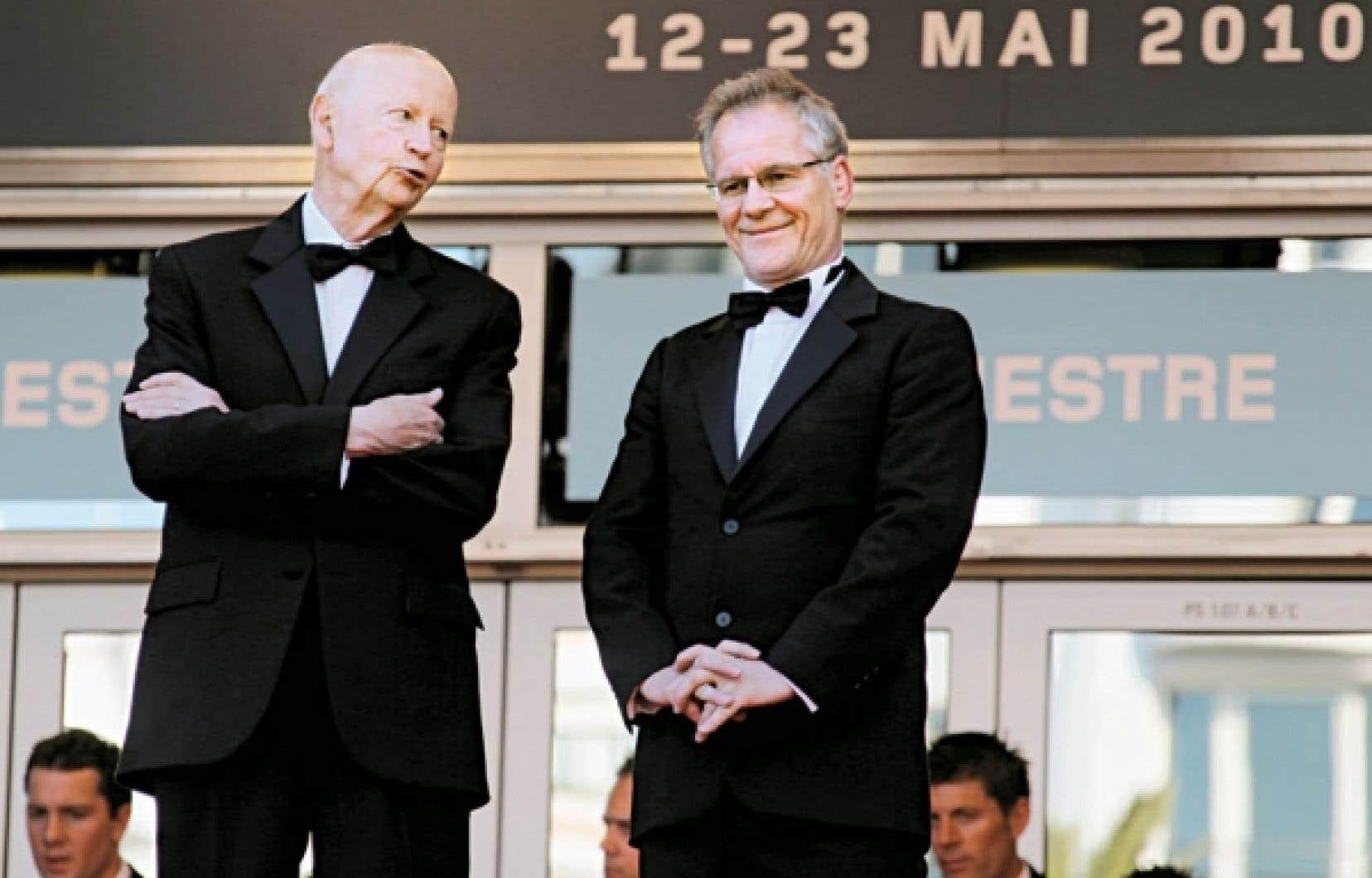 Thierry Frémaux, directeur du Festival de Cannes