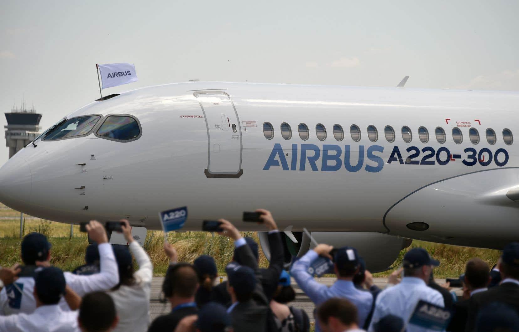 Au prix symbolique d'un dollar, Airbus a pu acquérir 50,01% du programme de l'avion commercial, qui a coûté 6milliards $US à développer.