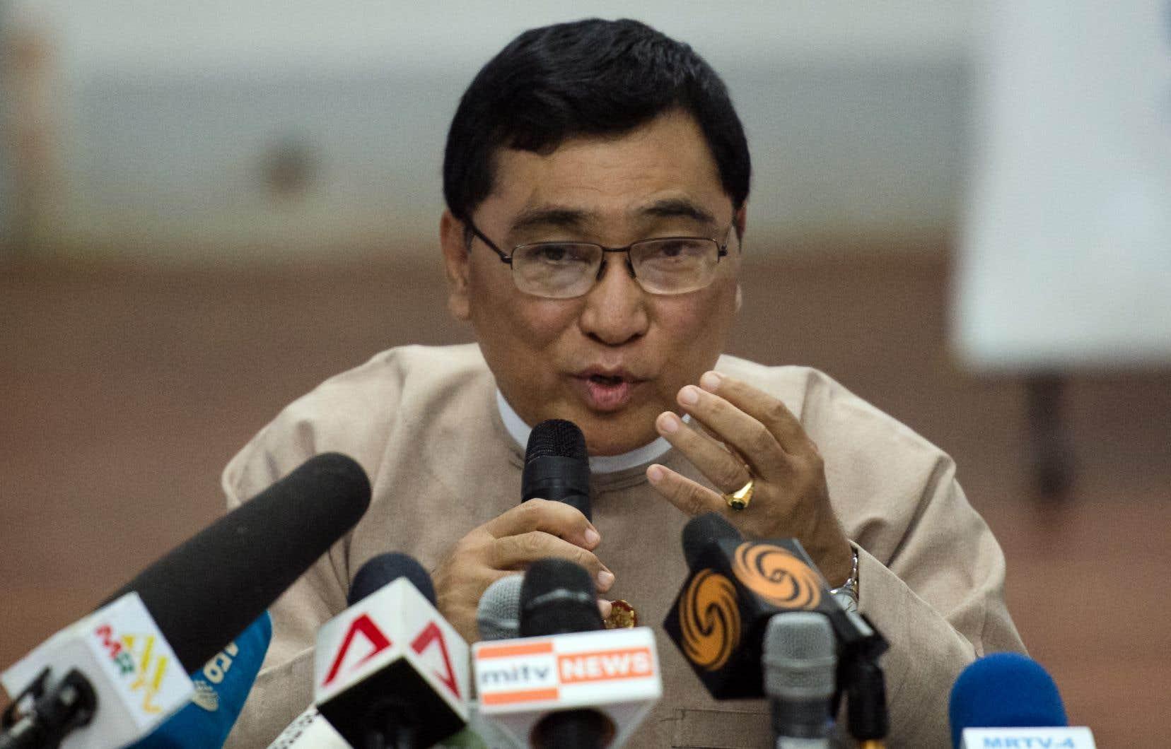 «Nous sommes prêts», a déclaré le ministre des Affaires sociales au Myanmar, Win Myat Aye.