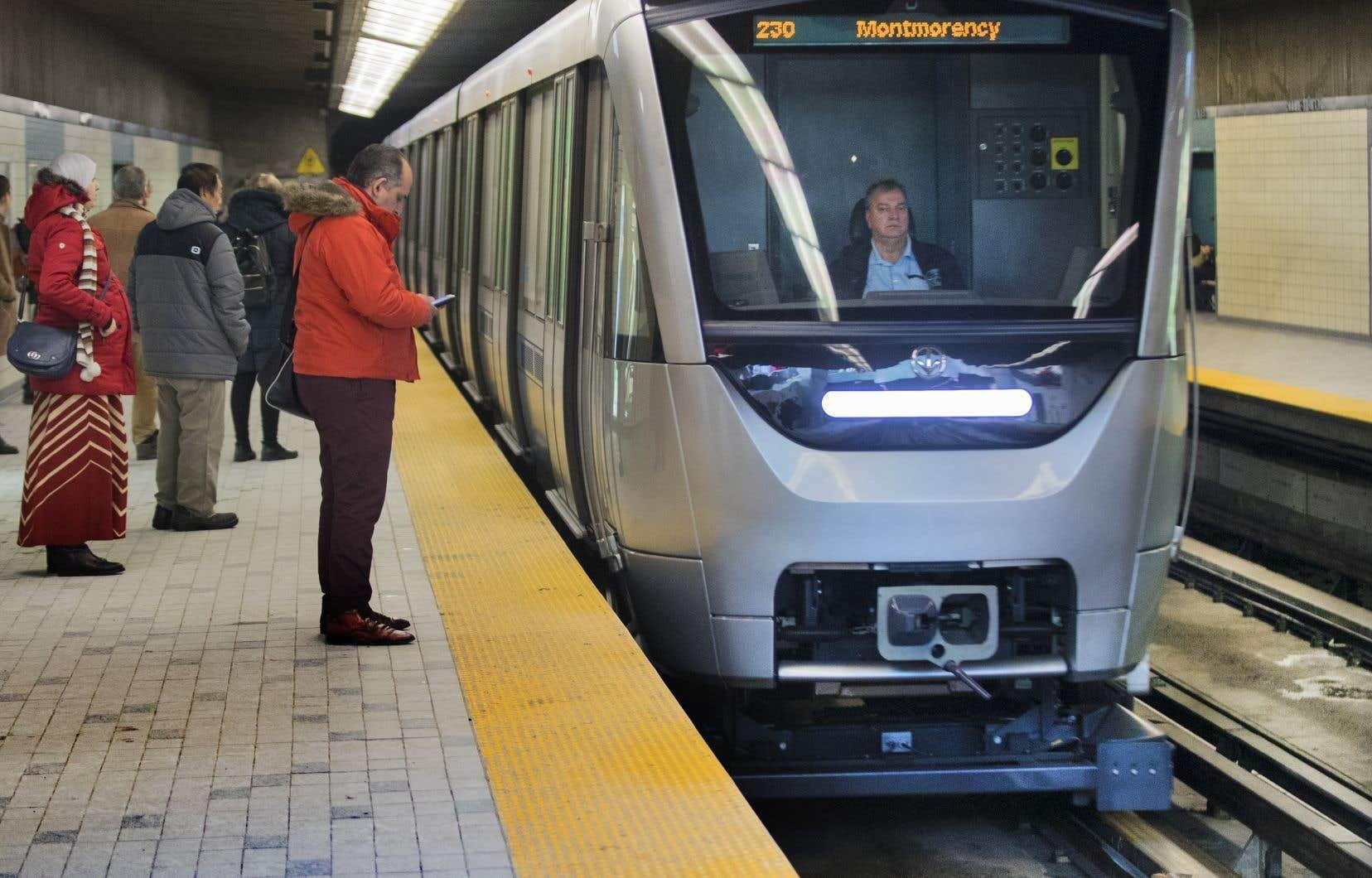 Le consortium Bombardier-Alstom fournira 153 voitures de métro AZUR additionnelles à la STM.