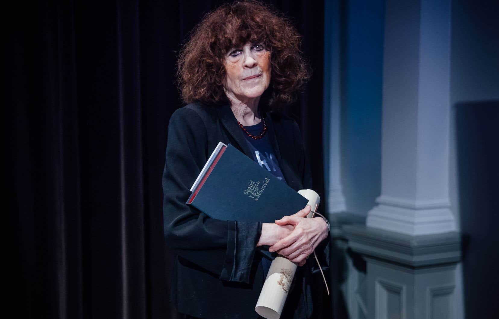 L'écrivaine québécoise Marie-Claire Blais
