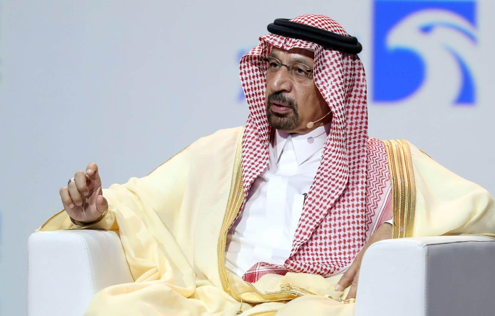 Le ministre saoudien de l'Énergie, Khaled al-Faleh