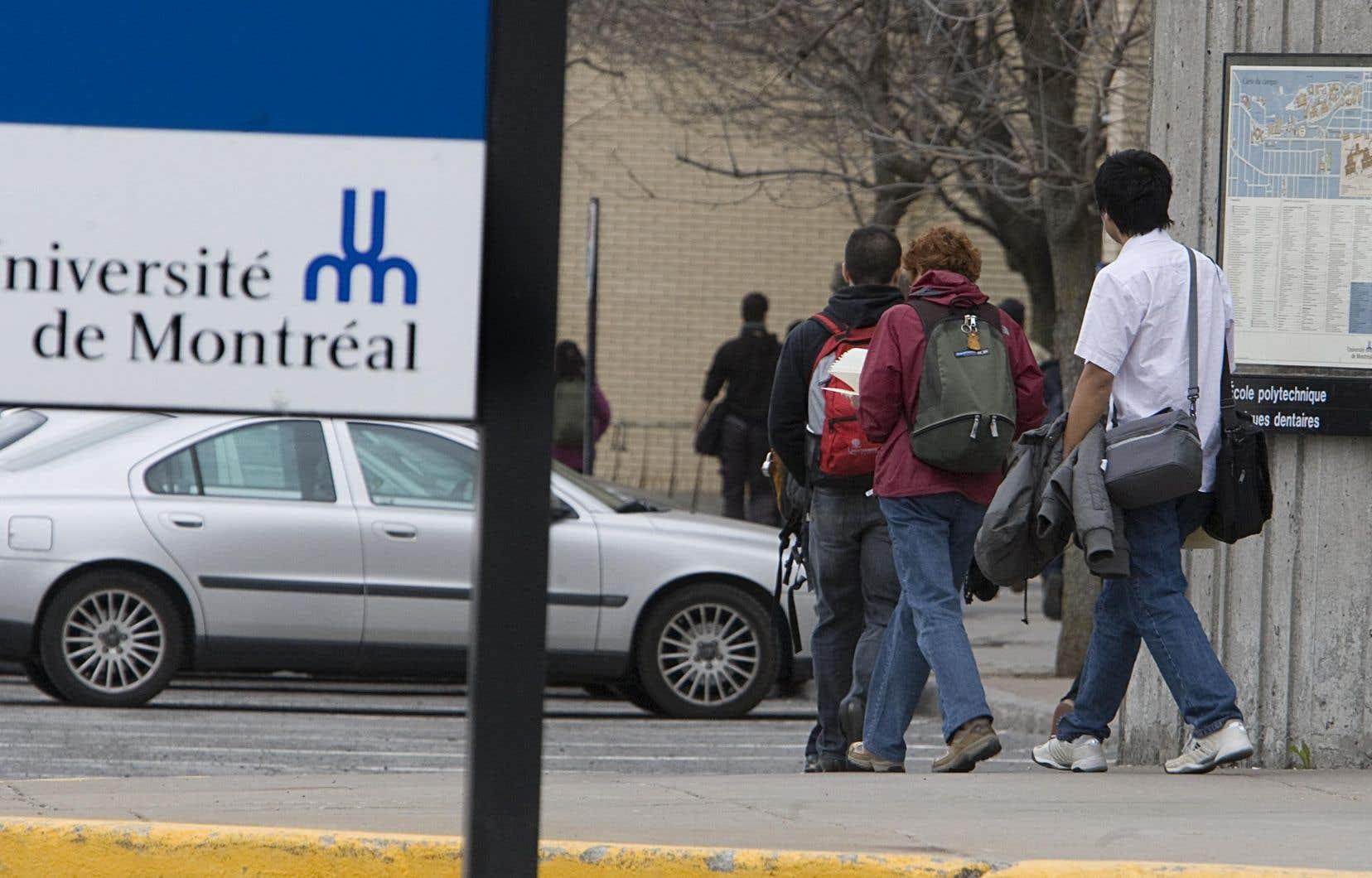 La direction de l'Université de Montréal est sûre de pouvoir instaurer sa politique pour combattre et prévenir les violences sexuelles avant le 1erjanvier 2019.