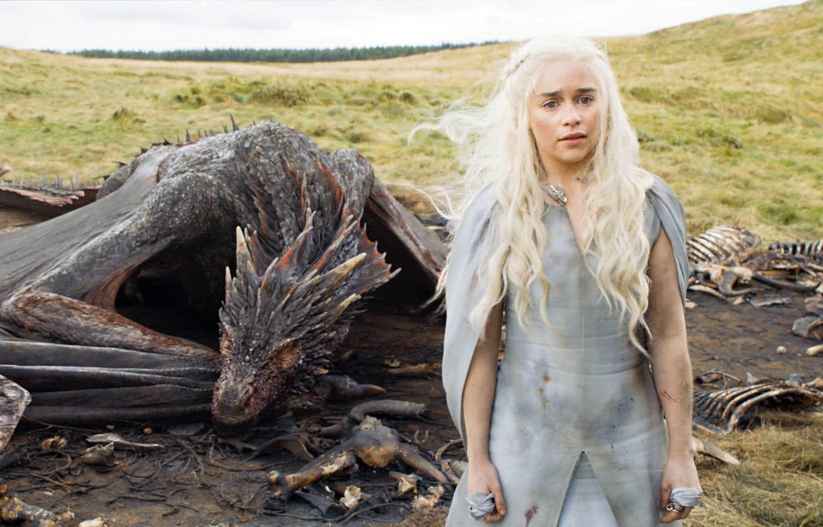 Le studio Pixomondo a remporté trois Emmy Awards en donnant vie aux dragons de la série «Le trône de fer» («Game of Thrones»).