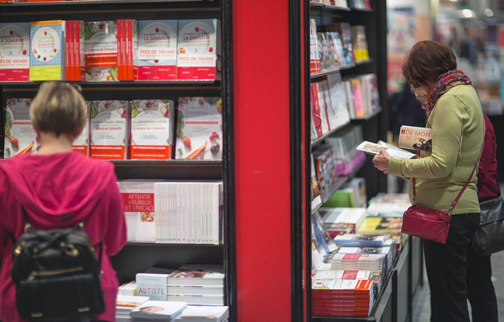 La 40e édition du Salon du livre de Montréal a attiré près de 120 000 visiteurs l'automne dernier.