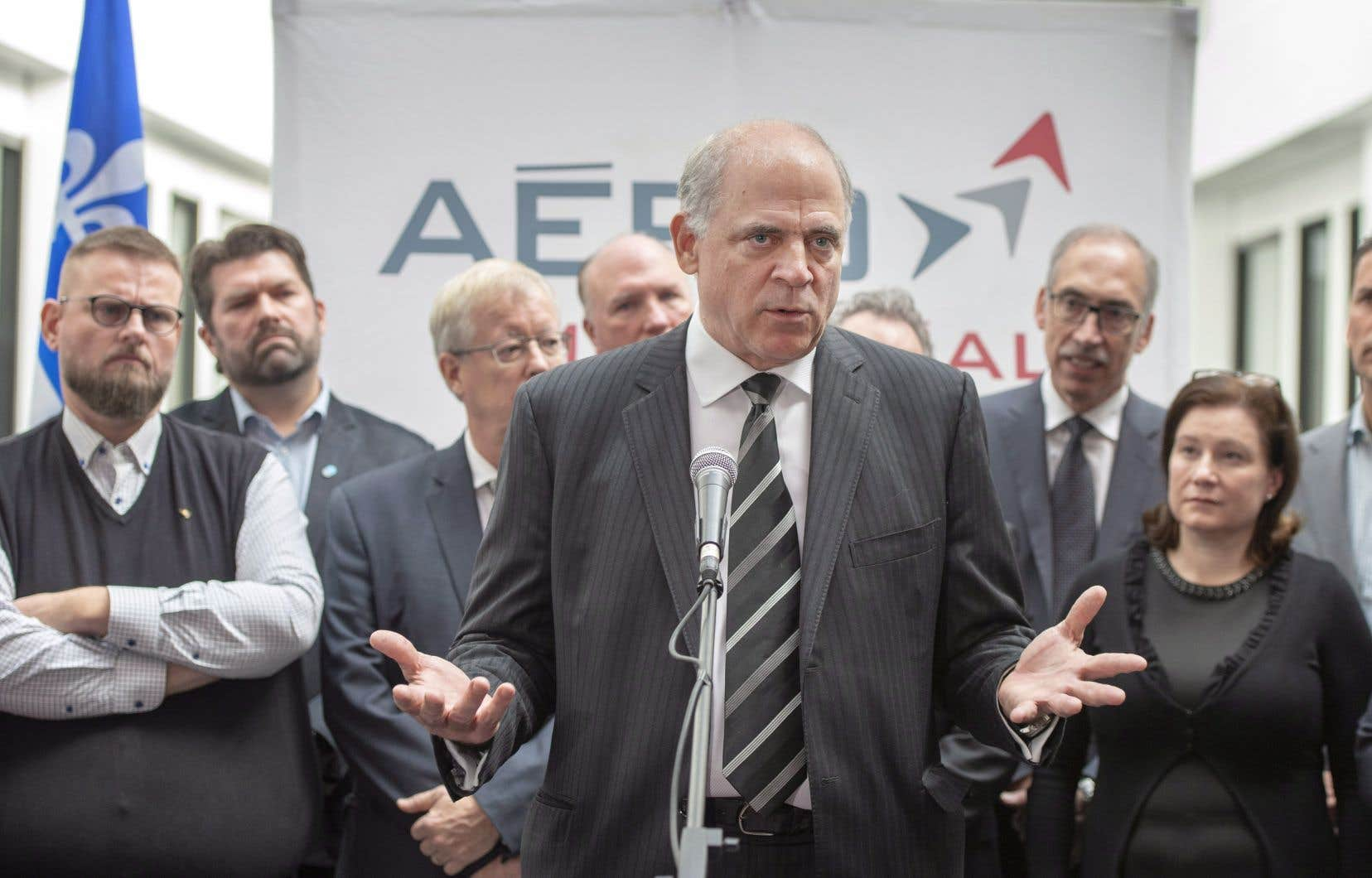 Le ministre de l'Économie Pierre Fitzgibbon a dit vouloir travailler avec la multinationale afin de «prévenir les coups» et d'agir de manière proactive.