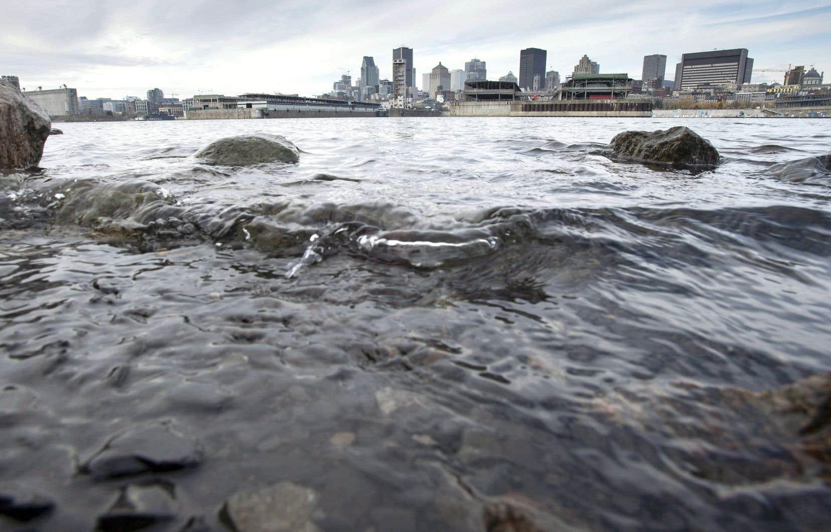 Le déversement de 162millions de litres d'eaux usées dans le fleuve Saint-Laurent a débuté jeudi matin à Longueuil.