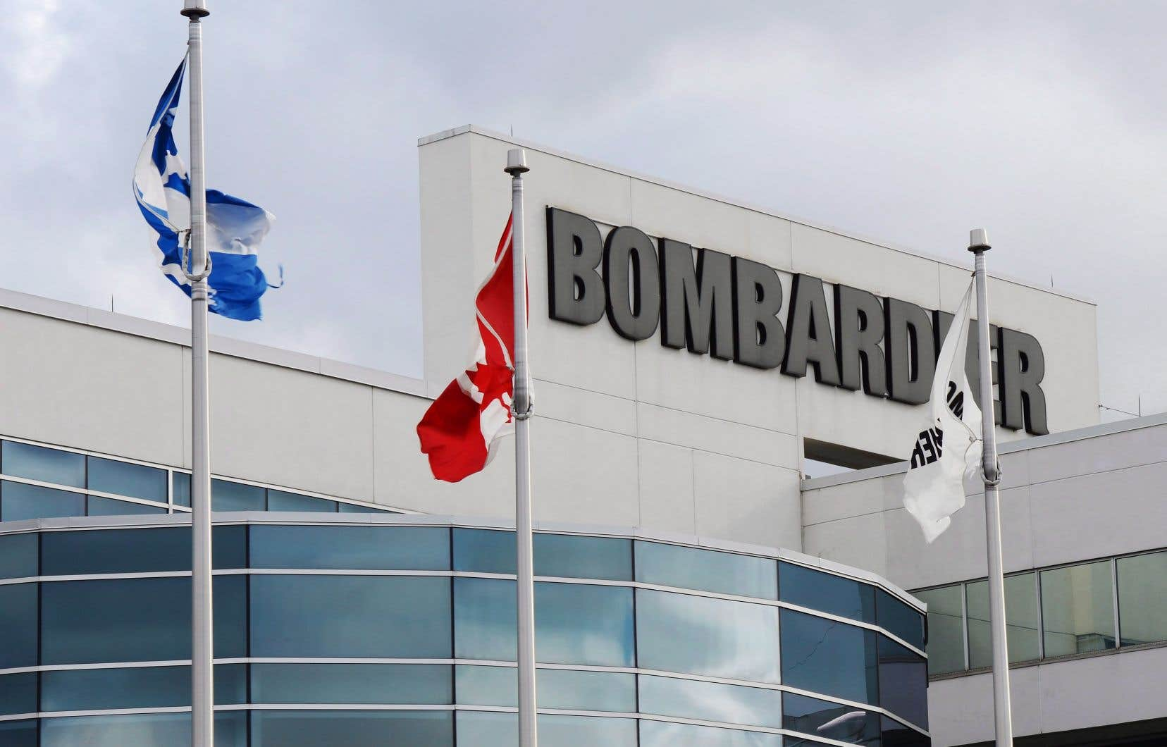 L'usine montréalaise de Bombardier Aéronautique