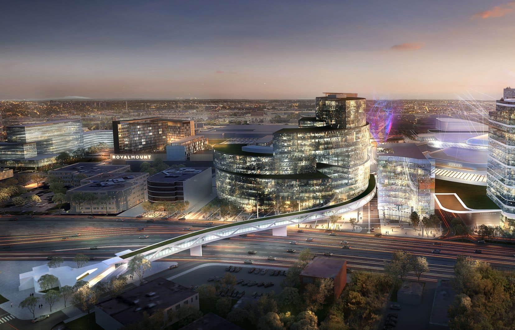 «Le projet Royalmount va nuire en plus aux centres commerciaux situés dans le voisinage, dont le Centre Rockland, Place Vertu et le Marché Central», pense l'auteur.