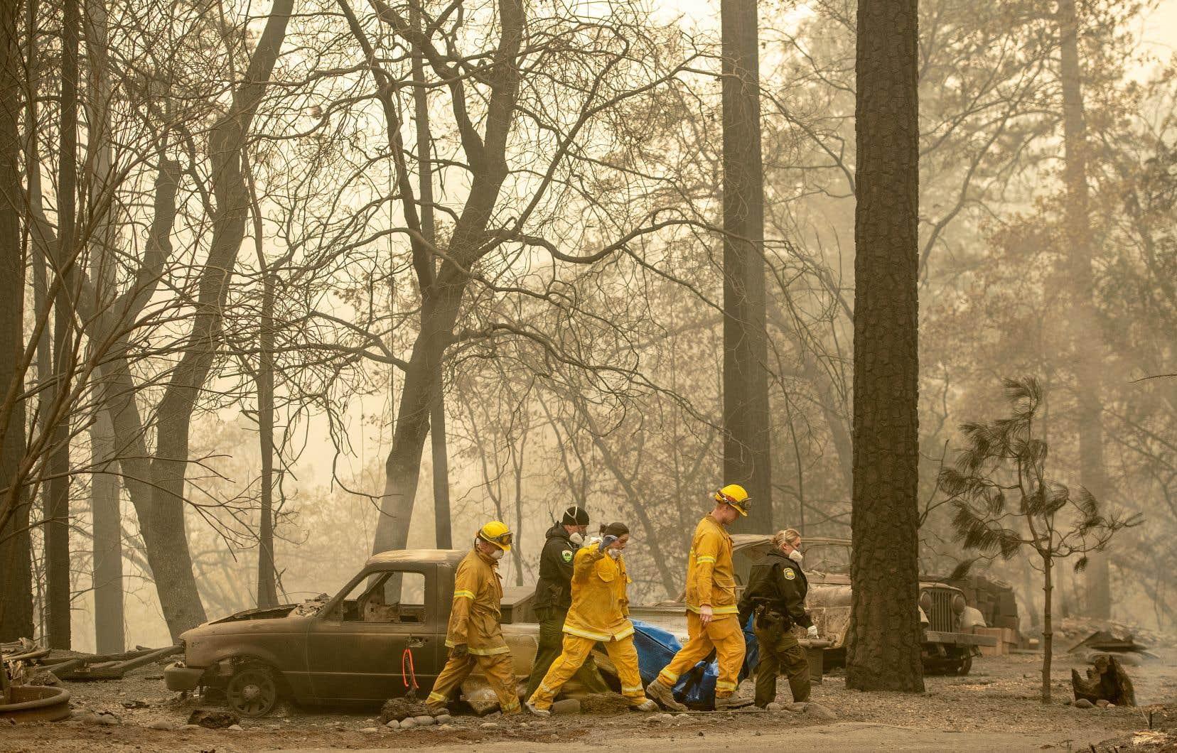 L'incendie «Camp» est le plus meurtrier de l'histoire de la Californie.