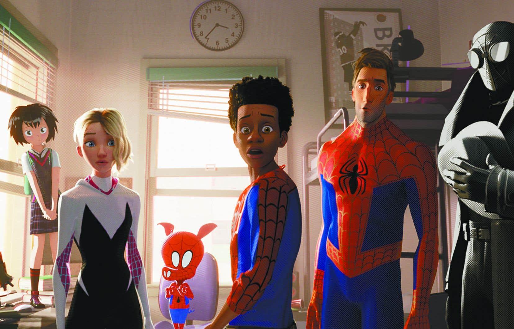 Les admirateurs de l'agile Spider-Man seront ravis avec la version animée du superhéros «Spider-Man – Into the Spider-Verse».