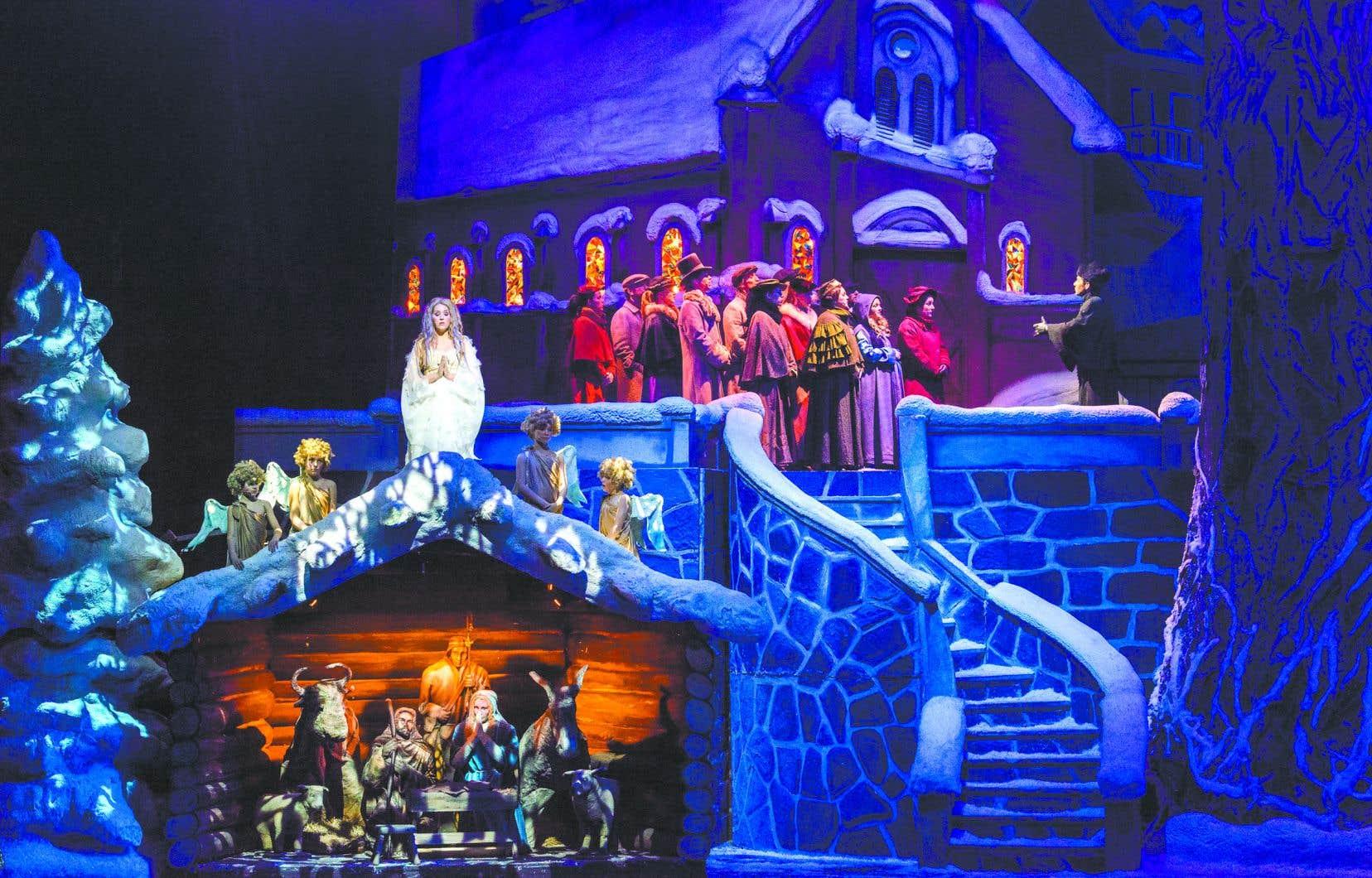 Le spectacle «Décembre» de la troupe Québec Issime reprend sa place pour une seizième saison à la Place des Arts.