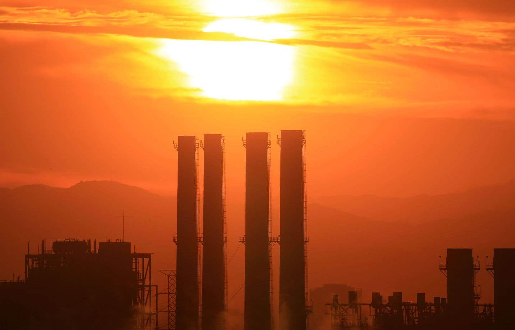 Les gaz à effet de serre, à l'origine des changements climatiques, ont franchi de nouveaux pics de concentration dans l'atmosphère en 2017.