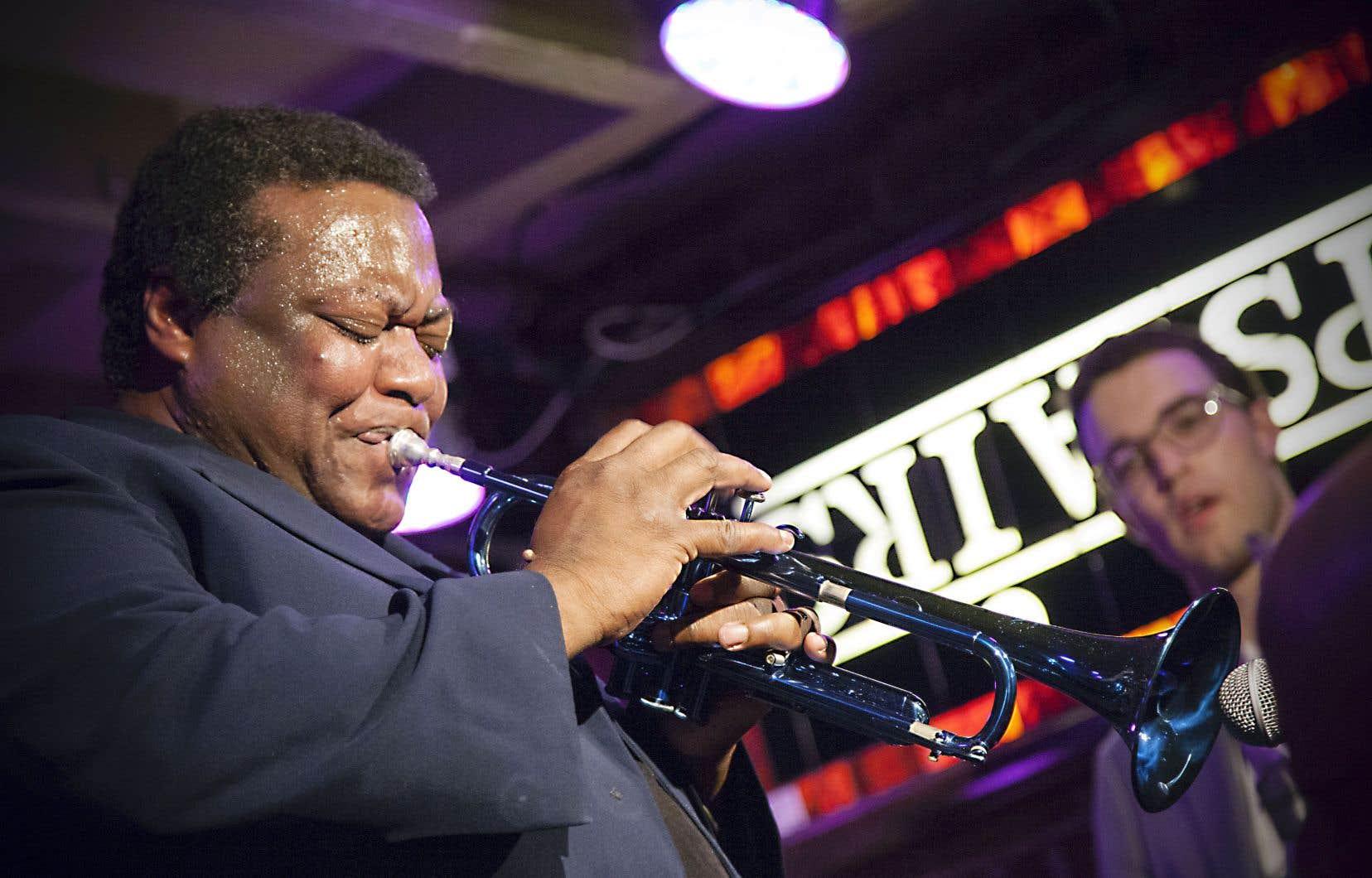 Wallace Roney s'est produit au Upstairs à Montréal le 3novembre dernier.