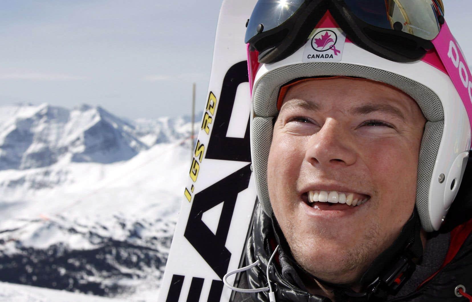Ben Thomsen (photo) et le spécialiste du super-G Dustin Cook sont les seuls vétérans toujours présents au sein de l'équipe canadienne.